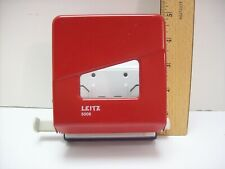 Leitz High Quality Metal 2 Hole Paper Punch Made In Germany