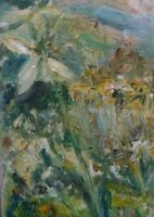 First Snowdrops, Wensleydale. Original Impressionism. Oil/Canvas. Yorks. Dales