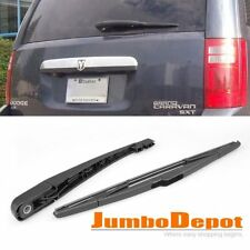 Black Rear Wiper Arm + Blade For Dodge Grand Caravan/Chrysler Town&Country 08-15