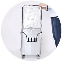 Waterproof Transparent Luggage Cover Suitcase Carrier Protector Cover Bag Travel