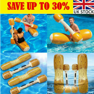 4PCS Pool Joust Float Swim Game Toy Inflatable Gladiator Party Duel Battle YE