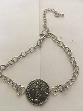 Denarius Of Galba Coin WC73 Fine English Pewter on a Anklet / Bracelet