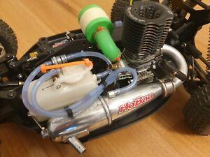 RC BUGGY HYPER 7 TQ2 1/8 SCALE 4X4 NITRO RTR SAVOX SERVOS 3 PORT 21 ENGINE HOBAO
