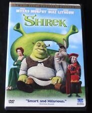 Shrek Dvd 2-Disc Set 2001 Special Edition Family Children Kid Dreamworks Movie