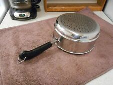REVERE WARE Stainless Steel 2 & 3 Qt Steamer Insert Pan EXTRA NICE & SHINY!