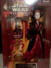 1999 star wars Episode 1 Queen Amidala collection Ultimate Hair Doll hasbro