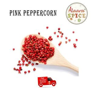 200g Pink Peppercorns Finest Grade Whole Dried A* Grade Quality UK FAST P&P