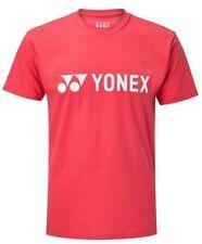 Yonex Men's Tennis Brand T-Shirt Size Large Coral Red