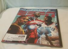 ESPN The Magazine 11/1/10 NBA Preview with Marvel pics; KOBE LEBRON DURANT CURRY