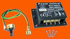 KEMO M028N LAMPENDIMMER MOTORDIMMER LEISTUNGSREGLER DIMMER 110-240 V/4000 W