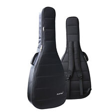 "Advanced Waterproof Acoustic Guitar Bag Thicken Padded Soft Case 40/41"" BLACK"