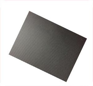 Carbon Fiber Plate Panel Sheet 3K Plain Weave Glossy 200x250mm 400x500mm