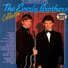 "12"" The Everly Brothers 20 Greatest Hits Collection (Bye Bye Love)"