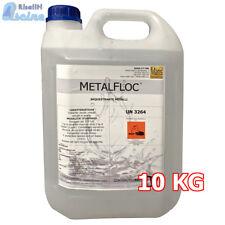 Metalfloc 10 kg discioglie il metallo nell'acqua della piscina prima del cloro