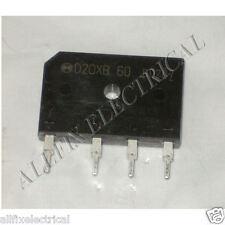 Panasonic Invertor 600Volt 20amp Bridge Rectifier - Part # AESTRBV6206, D20XB60
