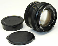 Objectif KONICA HEXANON AR 1,4/50 - 1,4 F = 50mm pour Konica