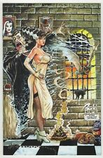 """Cavewoman Monster Dreams (2016) #1 Budd Root Mrs Frankenstein Cover """"D"""" 450 NM-"""