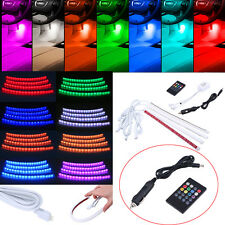 Universal Colorful 12 LED Car Accessories Floor Decorative Atmosphere Lamp Light