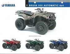 ATV Data Sheet - Yamaha - Bruin 350 Automatic 4x4 - 2005  (V72)
