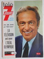 ►TELE 7 JOURS 648/1972  GUY LUX - SERGE LAMA - CLAUDE PIEPLU - BRASSEUR - PAGNOL