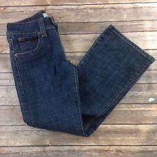 Levi's Flare 515 Jeans Cotton Spandex Blend Denim Blue Sz. 4P M01
