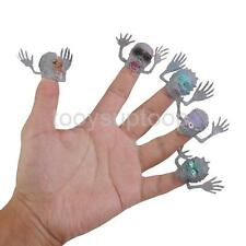 24 Zombie Monster Finger Puppets Halloween Party Loot Favors Horror Gag Gift