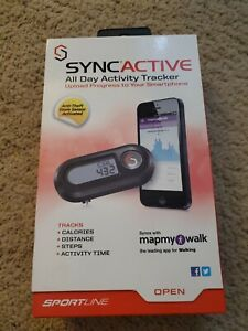 SYNCACTIVE All Day Activity Tracker Upload Progress TO Smartphone