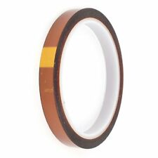 10mm 100ft BGA High Temperature Heat Resistant Polyimide Gold Kapton Tape CA