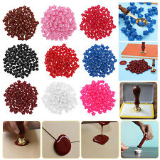 100Pcs/ Sealing Wax Beads for Seal Stamp Document Wedding Envelope Card Gift