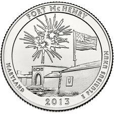 USA / Vereinigte Staaten - 25c Fort McHenry