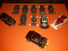 Vintage Tyco Slot Cars 1970s HO Scale 1/64 Lot Cars Extra Body's