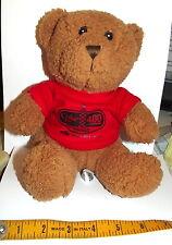 RARE~ COCA COLA ZERO coke TEDDY BEAR~DAYTONA 400~ JULY 2, 2011 PLUSH ~US  SELLER