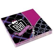 Paquet de 20 serviettes en Papier Monster High