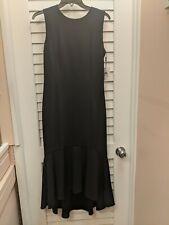 NWT Calvin Klein Black Asymmetrical Hem  Dress. Retail $128.