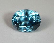 Zirkon Starlit  5,84 Karat  Kambodscha  natural blue Zircon     koxgems