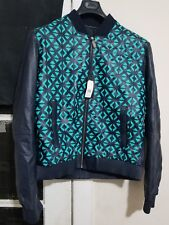Versace Collection Laser Cut Leather Men's Jacket 2015 Collection Size 56