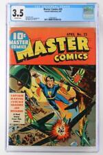Master Comics #25 - CGC 3.5 VG- Fawcett 1942 - Captain Marvel Junior!
