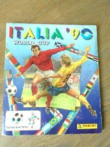 PANINI ITALIA 90 WORLD CUP STICKER ALBUM COMPLETE