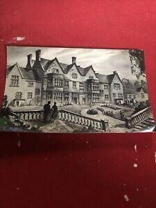 Old Postcard Of Westerduns Hotel North Berwick
