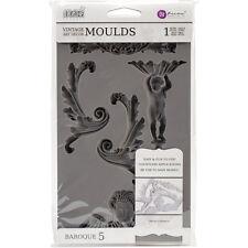 Iron Orchid Designs Vintage Art Decor Mould -Baroque #5