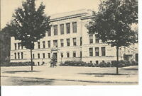 CC-337 MA, Framingham High School Divided Back Postcard Massachusetts