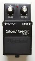 BOSS SG-1 Slow Gear Vintage Guitar Effects Pedal Made in Japan MIJ 1981 #7