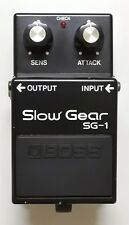 BOSS SG-1 Slow Gear Vintage Guitar Effects Pedal Made in Japan MIJ 1981 #7