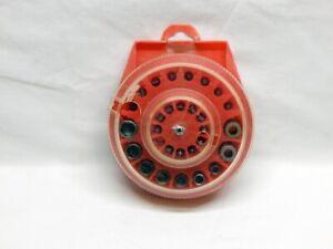 Vintage 29 piece nut driver sockets screwdrivers screw finder bit set Dial-pack