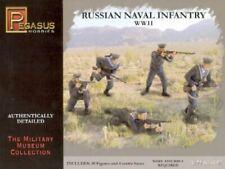 PEGASUS HOBBIES 1/72 RUSSIAN NAVAL INFANTRY WWII (40)   7270