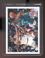 1991-92 Upper Deck #438 Larry Johnson Charlotte Hornets Rookie Card