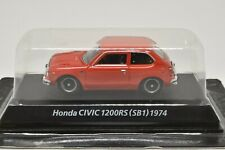 0217 KONAMI 1/64 HONDA CIVIC 1200RS SB1 Orange Mint No-Box With Tracking Number