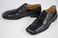 Avventura Men's Slip On Shoes Size 10 M Manressa Crocodile Party Casual Hipster