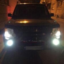 2x H11 Bulbs Fog LED Cob White 6000K Canbus Land Rover Discovery 3 LR3 2004-2009