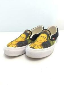 VANS  Frida Kahlo Frida Kahlo Slip-On Low-Cut Sneakers 25.5Cm Canvas US 7.5